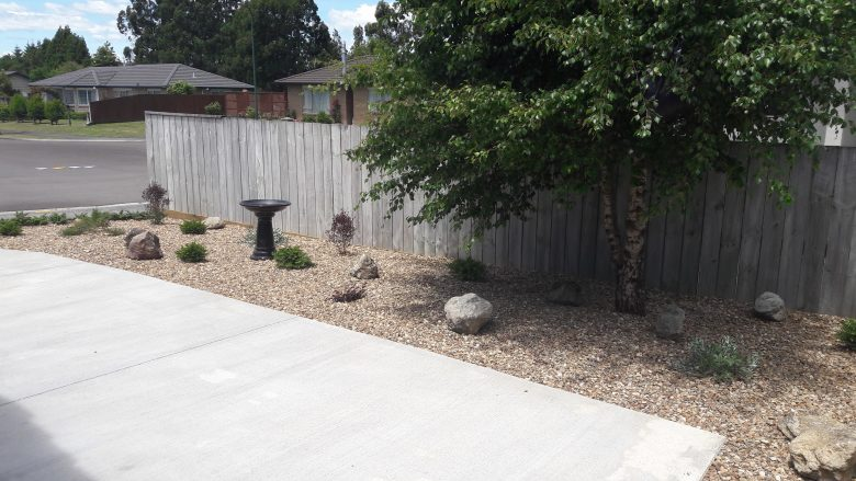 Lewis Landscaping - Rotorua - Fresh low maintenance garden - 1