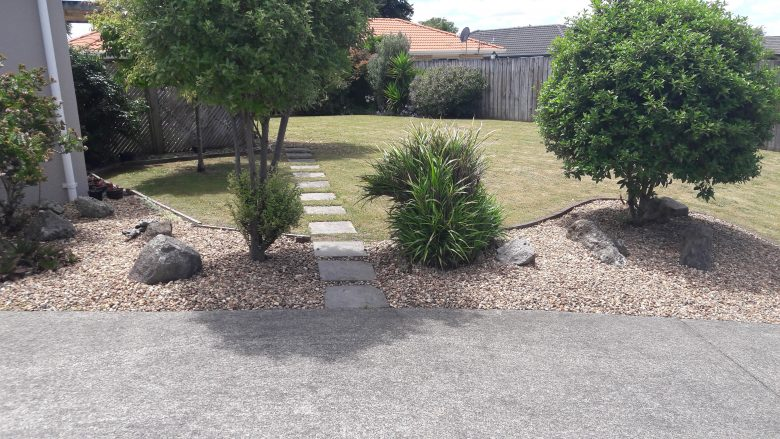 Lewis Landscaping - Rotorua - Fresh low maintenance garden - 3
